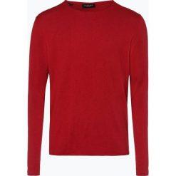 Selected - Sweter męski z dodatkiem jedwabiu – Slhdome, czerwony. Czerwone swetry klasyczne męskie Selected, m, z dzianiny. Za 179,95 zł.