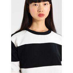 Bluzki asymetryczne: b.young SHIRLEY COLOUR  Bluzka z długim rękawem black