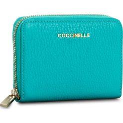 Portfele damskie: Duży Portfel Damski COCCINELLE – BW5 Metallic Soft E2 BW5 11 02 01 Turquoise 028
