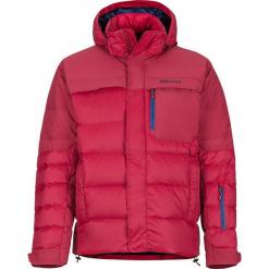 """Kurtka puchowa """"Shadow"""" w kolorze czerwonym. Czerwone kurtki męskie puchowe marki Marmot, m, z materiału. W wyprzedaży za 818,95 zł."""