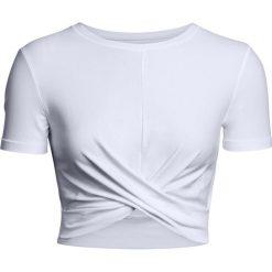 Under Armour Koszulka damska Lightweight Lux Crop Tee biała r. M (1305484-100). T-shirty damskie Under Armour, m. Za 171,91 zł.