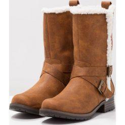 Head over Heels by Dune REECEY Kozaki tan. Brązowe buty zimowe damskie Head over Heels by Dune, z materiału. W wyprzedaży za 179,50 zł.
