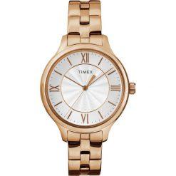 Zegarek Timex Damski TW2R28000 Peyton Rose Gold. Czerwone zegarki damskie Timex. Za 322,99 zł.
