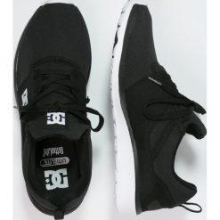 DC Shoes HEATHROW Tenisówki i Trampki black/white. Czarne trampki męskie DC Shoes, z materiału. Za 349,00 zł.
