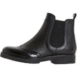 Dune London QUARK Ankle boot black. Czarne botki damskie na zamek Dune London, z materiału. Za 669,00 zł.