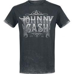 Johnny Cash EMP Signature Collection T-Shirt ciemnoszary. Szare t-shirty męskie z nadrukiem Johnny Cash, l. Za 79,90 zł.