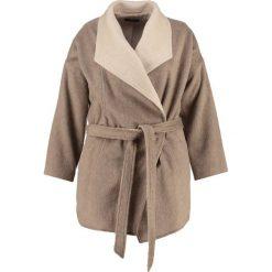 Płaszcze damskie pastelowe: CeHCe Płaszcz wełniany /Płaszcz klasyczny beige