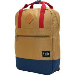 Plecaki męskie: Plecak w kolorze beżowym – 26 x 36 x 9 cm