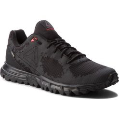 Buty Reebok - Sawcut Gtx 6.0 GORE-TEX CN2123 Black/Ash Grey/Primal Red. Szare buty do biegania męskie marki Reebok, l, z dzianiny, z okrągłym kołnierzem. W wyprzedaży za 289,00 zł.