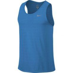 Koszulka do biegania męska NIKE DRI-FIT CONTOUR SINGLET / 683494-435 - NIKE DRI-FIT CONTOUR SINGLET. Szare koszulki sportowe męskie marki Nike, m. Za 79,00 zł.