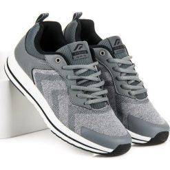 Wygodne buty sportowe AX BOXING odcienie szarości i srebra. Szare buty skate męskie AX BOXING. Za 119,00 zł.