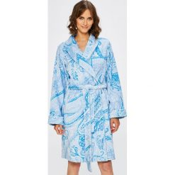 Lauren Ralph Lauren - Szlafrok. Szare szlafroki damskie Lauren Ralph Lauren, l, z tkaniny. W wyprzedaży za 499,90 zł.