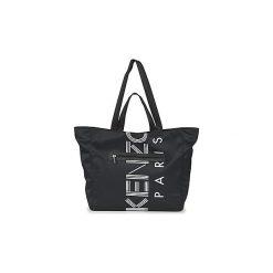 Torby shopper Kenzo  SPORT LOGO TOTE. Czarne shopper bag damskie marki Kenzo. Za 859,00 zł.