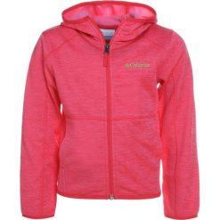 Columbia S'MORE ADVENTURE FULL ZIP HOODIE Kurtka z polaru punch pink heather. Różowe kurtki dziewczęce marki Columbia. Za 169,00 zł.