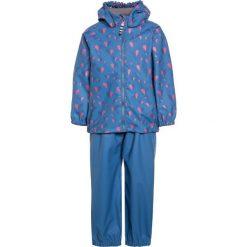 Racoon RAIN SET Kurtka przeciwdeszczowa blue. Niebieskie kurtki dziewczęce przeciwdeszczowe marki Racoon, z jeansu. Za 269,00 zł.