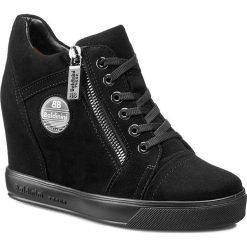 Buty damskie: Sneakersy BALDININI - 648424PCAMO00 Tron D. Camoscio Nero