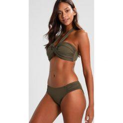 Bikini: Seafolly RUCHED SIDE RETRO Dół od bikini dark olive