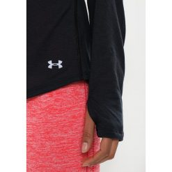 Under Armour THREADBORNE STREAKER Koszulka sportowa black. Czarne topy sportowe damskie Under Armour, xs, z materiału, z długim rękawem. W wyprzedaży za 134,10 zł.