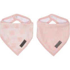 Bebe-Jou Śliniaczek Trójkątny Fabulous Frosted, 2 Sztuki, Blush Pink. Różowe śliniaki marki Bebe-Jou. Za 45,00 zł.