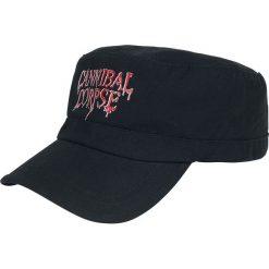 Cannibal Corpse Logo Czapka wojskowa czarny. Czarne czapki męskie Cannibal Corpse. Za 54,90 zł.