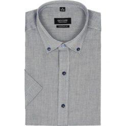 Koszula bexley 2516 krótki rękaw custom fit granatowy. Niebieskie koszule męskie Recman, m, z krótkim rękawem. Za 89,99 zł.