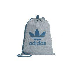Plecaki adidas  Torba-worek Trefoil. Szare plecaki damskie Adidas. Za 79,95 zł.