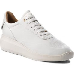 Sneakersy GEOX - D Rubidia A D84APA 00046 C1000 White. Szare sneakersy damskie marki Geox, z gumy. W wyprzedaży za 359,00 zł.