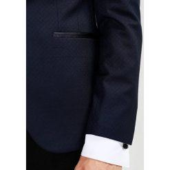 Marynarki męskie slim fit: Burton Menswear London DOBBY Marynarka navy