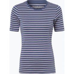 Brookshire - T-shirt damski, niebieski. Czarne t-shirty damskie marki brookshire, m, w paski, z dżerseju. Za 39,95 zł.