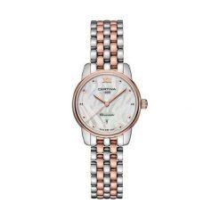 RABAT ZEGAREK CERTINA DS 8 C033.051.22.118.00. Białe zegarki damskie CERTINA, szklane. W wyprzedaży za 1663,21 zł.