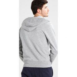 Bejsbolówki męskie: J.CREW Bluza rozpinana mottled light grey