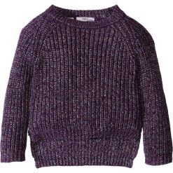 Sweter z połyskiem bonprix ciemny lila z połyskiem. Czerwone swetry dziewczęce marki bonprix, z okrągłym kołnierzem. Za 24,99 zł.