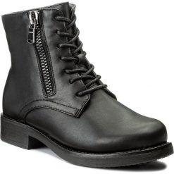 Botki JENNY FAIRY - WYL1064A-1 Czarny. Czarne buty zimowe damskie Jenny Fairy, z polaru. W wyprzedaży za 90,99 zł.