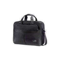 Torba do laptopa Samsonite 42V09006 13''-16'' Cityvibe czarna. Czarne torby na laptopa marki Samsonite, w paski, z nylonu. Za 479,99 zł.