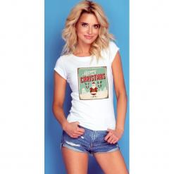 Bluzka merry christmas k235. Czerwone bluzki z odkrytymi ramionami marki SALE, l, z krótkim rękawem. Za 69,00 zł.