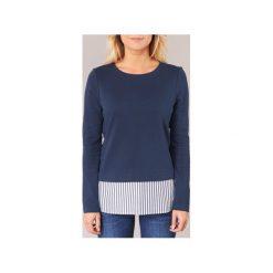 Bluzy Vero Moda  KIAM. Niebieskie bluzy rozpinane damskie Vero Moda, s. Za 127,20 zł.