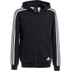 Adidas Performance Bluza rozpinana black/white. Czarne bluzy chłopięce rozpinane marki adidas Performance, z bawełny. W wyprzedaży za 139,30 zł.