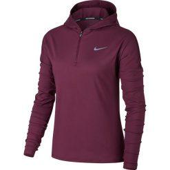 Bluza do biegania damska NIKE ELEMENT HALF ZIP HOODIE / 855515-659 - NIKE ELEMENT HALF ZIP HOODIE. Brązowe bluzy rozpinane damskie Nike. Za 179,00 zł.