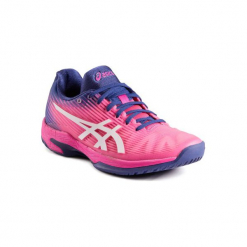 Buty do tenisa Asics Gel Solition Speed Flash damskie. Różowe buty do tenisu damskie Asics. Za 499,99 zł.