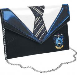Harry Potter Danielle Nicole - Ravenclaw Torebka - Handbag czarny/niebieski. Czarne torebki klasyczne damskie Harry Potter, z aplikacjami, z aplikacjami. Za 199,90 zł.