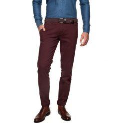 T-shirty męskie: spodnie foners 214 bordo