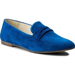 Półbuty VAGABOND - Ayden 4505-240-76 Super Blue. Niebieskie creepersy damskie Vagabond, ze skóry, na obcasie. W wyprzedaży za 279,00 zł.