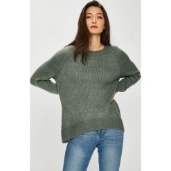 Only - Sweter. Czarne swetry klasyczne damskie marki ONLY, l, z materiału, z kapturem. Za 149,90 zł.
