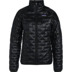 Kurtki damskie softshell: Patagonia MICRO PUFF Kurtka Outdoor black