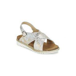 Sandały Dziecko  Citrouille et Compagnie  GLATINO. Szare sandały dziewczęce marki Citrouille et Compagnie. Za 119,20 zł.