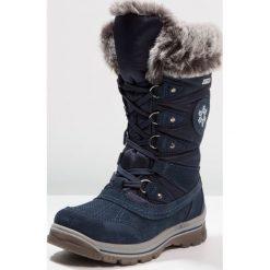 Fullstop. Śniegowce dark blue. Szare buty zimowe damskie marki fullstop., z materiału. W wyprzedaży za 136,95 zł.