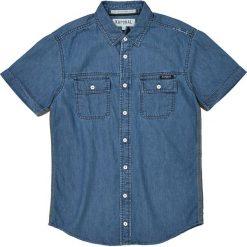 Odzież chłopięca: Koszula nocna gładka, z krótkim rękawem