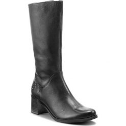 Kozaki MARCO TOZZI - 2-25035-29 Black Antic 969. Czarne buty zimowe damskie Marco Tozzi, ze skóry ekologicznej, przed kolano, na wysokim obcasie, na obcasie. Za 389,90 zł.