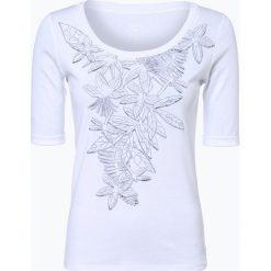 Marc Cain Collections - T-shirt damski, czarny. Czarne t-shirty damskie Marc Cain Collections, z nadrukiem, z dżerseju. Za 519,95 zł.