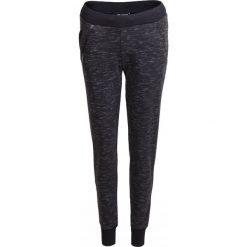 Spodnie dresowe damskie SPDD603 - czarny melanż - Outhorn. Czarne spodnie dresowe damskie Outhorn, na lato, melanż, z bawełny. W wyprzedaży za 69,99 zł.